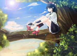 Rating: Safe Score: 15 Tags: keiko shameimaru_aya touhou User: fairyren
