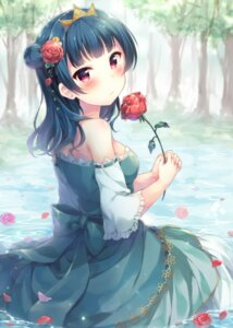 Rating: Safe Score: 34 Tags: dress hazuki_(sutasuta) love_live!_sunshine!! tsushima_yoshiko wet User: Mr_GT