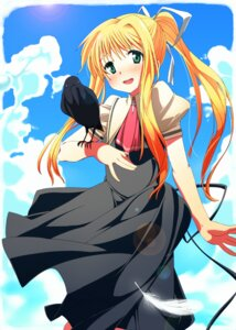 Rating: Safe Score: 6 Tags: air dress kamio_misuzu misibe User: SlenderMan