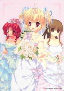 Rating: Safe Score: 26 Tags: dress kashiwamochi_yomogi malino mikeou wedding_dress User: Radioactive