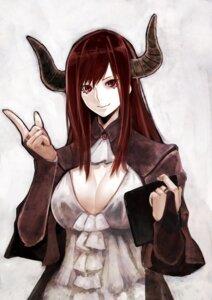 Rating: Safe Score: 23 Tags: cleavage horns maou_(maoyuu_maou_yuusha) maoyuu_maou_yuusha ryu0120 User: Mr_GT