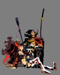Rating: Safe Score: 17 Tags: bikini_top gun heels kamina tengen_toppa_gurren_lagann thighhighs transparent_png vector_trace yoko User: MarySan