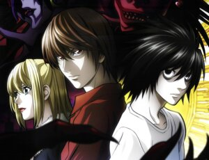 Rating: Safe Score: 9 Tags: amane_misa death_note l rem ryuk screening yagami_light User: charunetra