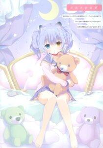 Rating: Safe Score: 26 Tags: amanagi_seiji animal_ears heterochromia seifuku User: kiyoe