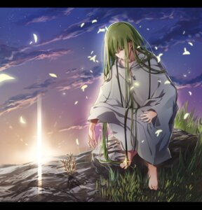 Rating: Safe Score: 12 Tags: enkidu_(fate/strange_fake) fate/strange_fake feet nekushiro User: charunetra