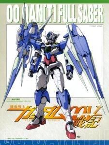 Rating: Safe Score: 10 Tags: 00_qan[t] ebikawa_kanetake gundam gundam_00 gundam_00:_a_wakening_of_the_trailblazer mecha User: harimahario