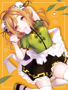 Rating: Safe Score: 19 Tags: asian_clothes goroo_(eneosu) kunikida_hanamaru love_live!_sunshine!! thighhighs User: BattlequeenYume