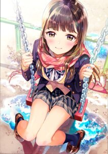Rating: Safe Score: 50 Tags: heels matsuzaki_miyuki seifuku sweater User: BattlequeenYume
