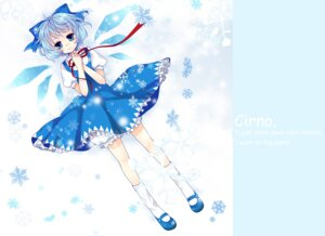 Rating: Safe Score: 6 Tags: bloomers cirno dress kyoko_hani touhou User: Radioactive