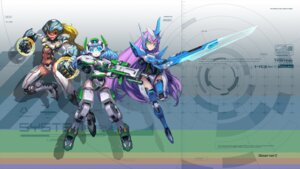 Rating: Safe Score: 15 Tags: bodysuit gun mecha_musume observerz sword User: Radioactive