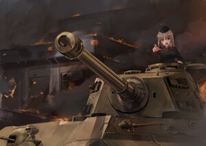 Rating: Safe Score: 30 Tags: akasa_ai girls_und_panzer itsumi_erika uniform User: Mr_GT