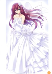 Rating: Safe Score: 48 Tags: 11eyes chikotam dress kusakabe_misuzu wedding_dress User: crim
