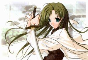 Rating: Safe Score: 3 Tags: happy_lesson sanzein_yayoi sasaki_mutsumi sword User: Radioactive