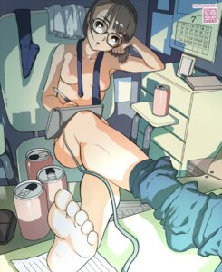 Rating: Questionable Score: 24 Tags: feet megane naked nipples yasumori_zen User: Nazzrie