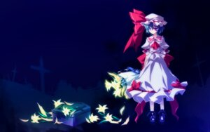 Rating: Safe Score: 17 Tags: frac motomiya_mitsuki remilia_scarlet touhou wallpaper User: WtfCakes