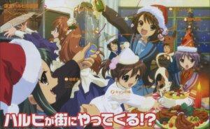 Rating: Safe Score: 11 Tags: asahina_mikuru christmas ikeda_shouko koizumi_itsuki kyon kyon's_sister nagato_yuki seifuku suzumiya_haruhi suzumiya_haruhi_no_yuuutsu tsuruya User: vita