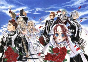 Rating: Safe Score: 2 Tags: abel_nightroad kyuujou_kiyo trinity_blood User: Radioactive