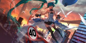 Rating: Safe Score: 57 Tags: 7th_dragon hatsune_miku headphones swd3e2 thighhighs vocaloid User: Mr_GT