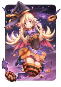 Rating: Safe Score: 34 Tags: bakemonogatari halloween heels kissshot_acerolaorion_heartunderblade shiro_ringo thighhighs wings witch User: Mr_GT