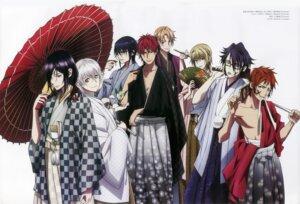 Rating: Safe Score: 7 Tags: fushimi_saruhiko isana_yashiro k kimono kusanagi_izumo male megane munakata_reisi suou_mikoto suzuki_shingo totsuka_tatara umbrella yata_misaki yatogami_kuroh yukata User: Radioactive