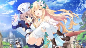 Rating: Safe Score: 37 Tags: blanc choujigen_game_neptune cleavage dress four_goddesses_online:_cyber_dimension_neptune game_cg heels pantsu stockings tamsoft_(choujigen_game_neptune) thighhighs tsunako vert witch User: Nepcoheart