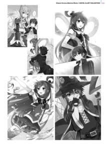 Rating: Safe Score: 21 Tags: aqua_(kono_subarashii_sekai_ni_shukufuku_wo!) armor digital_version dress eyepatch kono_subarashii_sekai_ni_shukufuku_wo! megumin mishima_kurone monochrome raratina_dustiness_ford satou_kazuma thighhighs weapon witch wiz_(kono_subarashii_sekai_ni_shukufuku_wo!) User: Twinsenzw