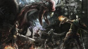 Rating: Safe Score: 12 Tags: armor dragons_dogma monster sword User: Radioactive
