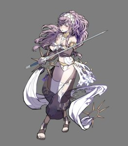 Rating: Safe Score: 13 Tags: akira_(kaned_fools) bikini_armor breast_hold cleavage fire_emblem fire_emblem_kakusei olivia_(fire_emblem) see_through sword thighhighs torn_clothes transparent_png User: Radioactive