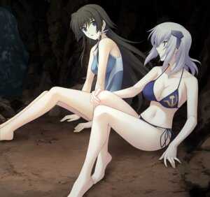 Rating: Safe Score: 48 Tags: bikini cleavage cryska_barchenowa muvluv muvluv_alternative swimsuits takamura_yui total_eclipse User: onesangheili