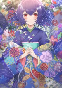 Rating: Safe Score: 15 Tags: kimono morino_rinze namamake the_idolm@ster the_idolm@ster_shiny_colors wet User: Arsy