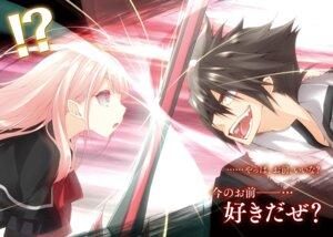 Rating: Safe Score: 4 Tags: kujibiki_tokushou:_musou_harem_ken luna_lia sword User: kiyoe