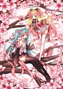 Rating: Safe Score: 21 Tags: dalzzam hatsune_miku seeu thighhighs vocaloid User: charunetra