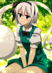 Rating: Safe Score: 39 Tags: konpaku_youmu sazanami_mio touhou User: Mr_GT