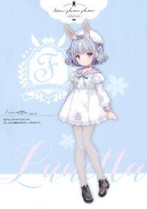 Rating: Questionable Score: 36 Tags: animal_ears bunny_ears heels pantyhose seifuku w.label wasabi_(artist) User: Radioactive