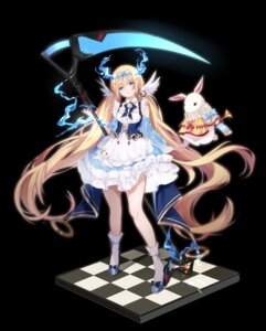 Rating: Safe Score: 38 Tags: alice alice_in_wonderland dress heels sijun weapon User: sym455