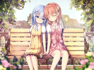 Rating: Safe Score: 57 Tags: apple228 dress gochuumon_wa_usagi_desu_ka? hoto_cocoa kafuu_chino User: Mr_GT