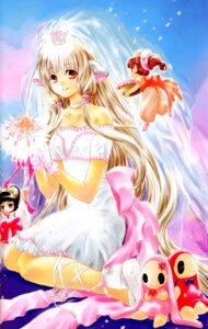 Rating: Safe Score: 8 Tags: chii chobits dress kotoko_(chobits) screening sumomo tagme wedding_dress User: charunetra