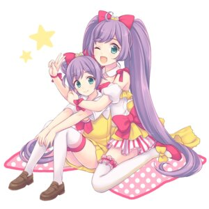 Rating: Safe Score: 16 Tags: dress maki_(natoriumu) manaka_lala pripara thighhighs User: blooregardo