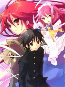 Rating: Safe Score: 4 Tags: ito_noizi sakai_yuuji shakugan_no_shana shana wilhelmina_carmel User: admin2