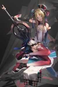 Rating: Safe Score: 43 Tags: houchi_shoujo miya-ki_(miya_key) sword thighhighs User: BattlequeenYume