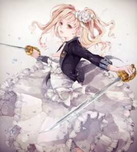 Rating: Safe Score: 30 Tags: +1_(yakusoku0722) dress elizabeth_middleford kuroshitsuji sword User: charunetra