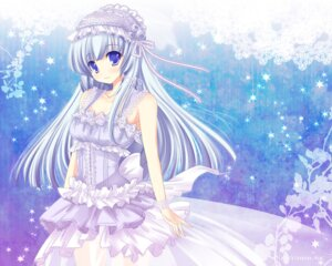 Rating: Safe Score: 32 Tags: dress hinata_momo lolita_fashion wallpaper User: blooregardo