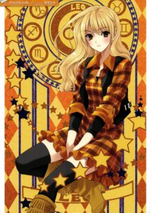 Rating: Safe Score: 25 Tags: dress heels suzuhira_hiro thighhighs User: fireattack