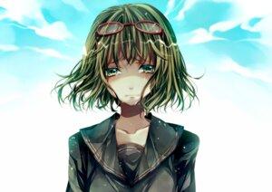 Rating: Safe Score: 8 Tags: gumi megane seifuku tsukioka_tsukiho vocaloid yowamushi_montblanc_(vocaloid) User: Radioactive