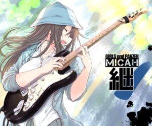 Rating: Safe Score: 26 Tags: girls_und_panzer guitar makabe_gorou mika_(girls_und_panzer) User: nphuongsun93