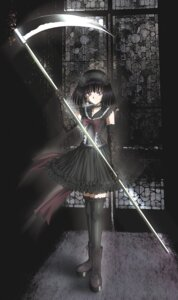 Rating: Safe Score: 28 Tags: gothic_lolita hino_ryutaro lolita_fashion sailor_moon thighhighs tomoe_hotaru User: meimichan