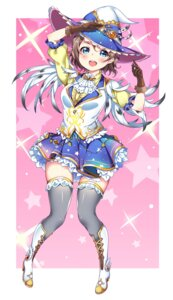 Rating: Safe Score: 33 Tags: heels joptr06 love_live!_sunshine!! thighhighs watanabe_you witch User: Mr_GT