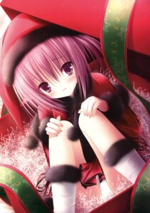 Rating: Questionable Score: 36 Tags: christmas minato_tomoka pajama ro-kyu-bu! tinkle User: Twinsenzw