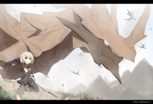 Rating: Safe Score: 23 Tags: monster pixiv_fantasia_v sky-freedom weapon User: vily00-