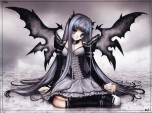 Rating: Safe Score: 18 Tags: gothic_lolita lolita_fashion sererena wings User: charunetra